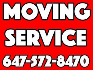 MOVING COMPANY MOVERS TRUCK VAN RENTAL LAST MINUTE RUSH SERVICE