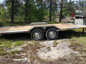 "Heavy Spec 19' x 8'4"" tandem trailer (quality custom built)"