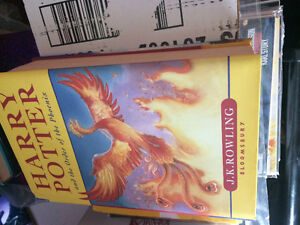 Harry Potter and the order of the Phoenix hardcover