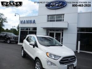 2018 Ford EcoSport SE AWD  *Navigation*