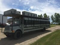 Help me paint a bus for burning man