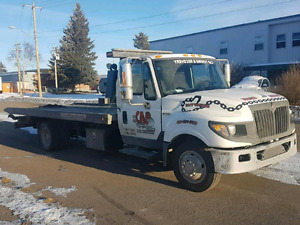 Tow truck service Calgary 587-318-4666
