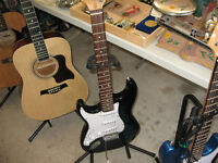 GUITAR PACKAGES FROM $95.00