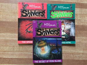 3 Shivers Books (Kids 9-12) by MD Spencer