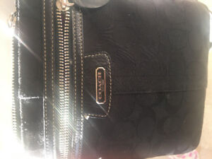 Authentic Coach crossbody purse /  Authentic micheal kors wallet
