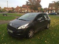 Peugeot 3008 1.6 hdi 2010, 78k, lots of mot, drives great £3600 cash no offers