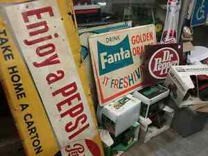 Nostalgia signs, tins just in at One Of A Kind Antique Mall  Stratford Kitchener Area image 2