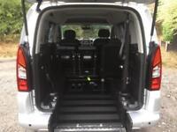 2014 Peugeot Partner Tepee 1.6 120 S 5dr WHEELCHAIR ACESSIBLE VEHICLE 5 door ...