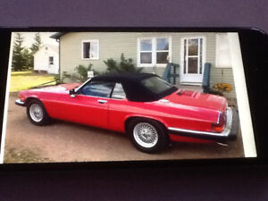 1989 Jaguar convertible