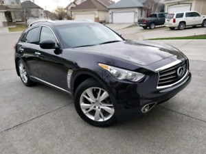 2013 Infiniti FX37 SUV 4WD Premium Plus Fully Loaded / fx35 qx70