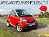 * SMART FORTWO 1.0 999cc AUTOMATIC SMART CAR AUTO SEMI-AUTO (84BHP) *