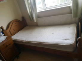 Bed plus mattress