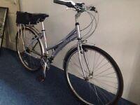 Ladies Claud Butler Hybrid Bike