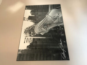 Black and white Marilyn photo