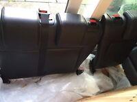 Mk6 fiesta leather rear seats