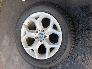 Four Michelin Latitude Ice Tire's on Alloy Rims