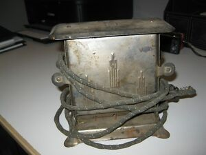 vintage 1950 toaster reed and camer with cord