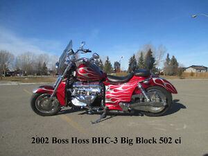 2002 Boss Hoss BHC-3 Big Block 502 ci 502 hp - ONLY 11000 miles!