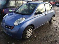 Nissan micra 1.2 2003 5door £495