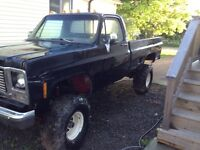 1979 Chevy lifted