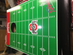 Brand new football toss game