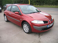 07 RENAULT MEGANE 1.6 SPORTY LOOKING HATCH (NOW ONLY 1495 GRAB A BARGAIN)