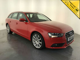 2014 AUDI A4 SE TECHNIK TDI QUATTRO ESTATE AUTO 1 OWNER SERVICE HISTORY FINANCE