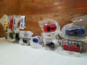 Die cast assemble cars