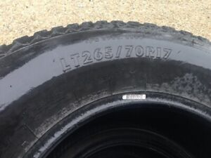LT265/70R17 Firestone At Tires forsale