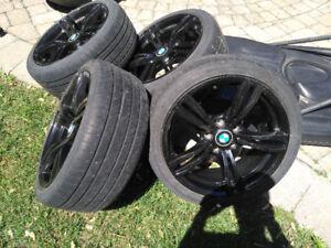 Pneu + mag noir BMW 225/40 R18