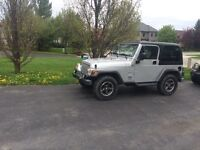 2004 Jeep Wrangler Columbia Edition