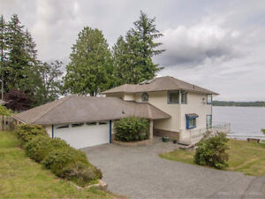 Oceanfront South Ladysmith 4 Bed/3Bath for rent