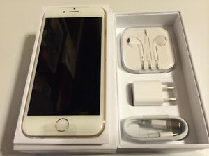 NEW Gold iPhone 6S 128gb...Trade