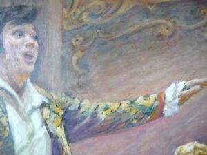 Opera, 'Mignon', Original Oil by Geoffrey Traunter, 1977 Stratford Kitchener Area image 8