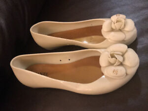 """Chanel"" jelly flats - Size 7.5/8"