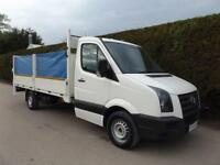 2011 Volkswagen Crafter CR35 2.5Tdi LWB 14ft DROPSIDE FLATBED - TAIL LIFT