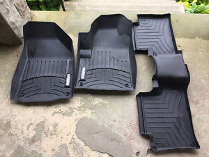 Jeep Cherokee Weather Tech Mats Front and back
