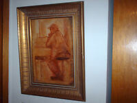 David C. Armstrong Framed Painting