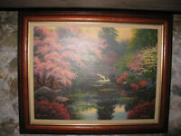 Charles White Numbered and Signed - Bridge of Tranquility