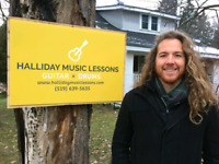 GUITAR & DRUM LESSONS -  Halliday Music Lessons