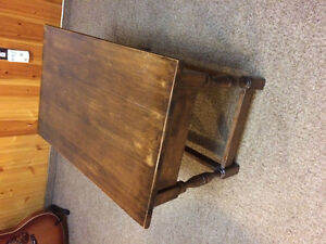 Small coffee table/large end table