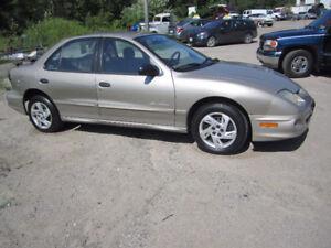 2002 Pontiac Sunfire DELUXE Sedan..CERTIFIED