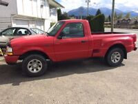 2000 ranger step side 2wd 5speed