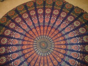 Mandala Tapestry, Wall decor