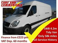 2013 13 MERCEDES-BENZ SPRINTER LWB 313 HIGH ROOF 2.2 DIESEL
