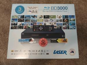 NEW DVD Player Laser Blu-Ray Player - Multi Region - BLU-BD3000