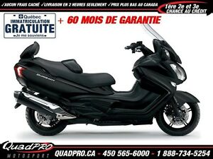 2017 Suzuki Burgman 650 Executive 38,43$/SEMAINE