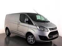 2014 FORD TRANSIT CUSTOM 2.2 TDCi 125ps Low Roof Limited SWB Low Roof