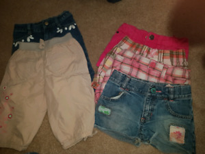 Girls 4 and 5t shorts
