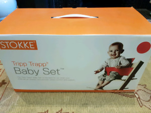 Tripp trapp baby set red